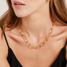 Slate Sahani Chain Link Necklace