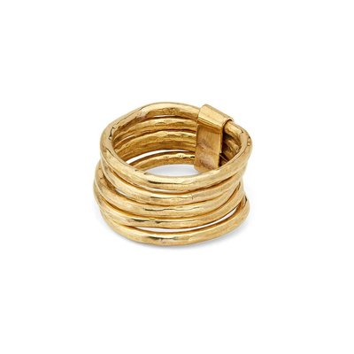 Slate Nyundo Stacking Rings