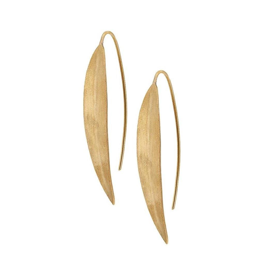 Slate Jani Threader Earrings