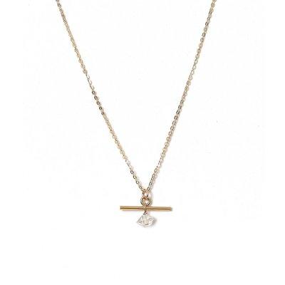 Slate Celta Herkimer Necklace