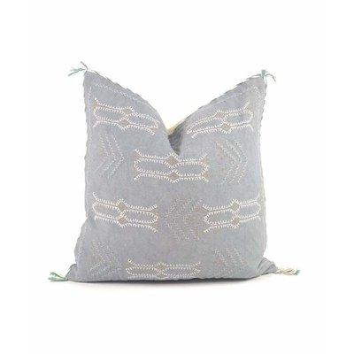 Slate Handwoven Ramesh Pillow