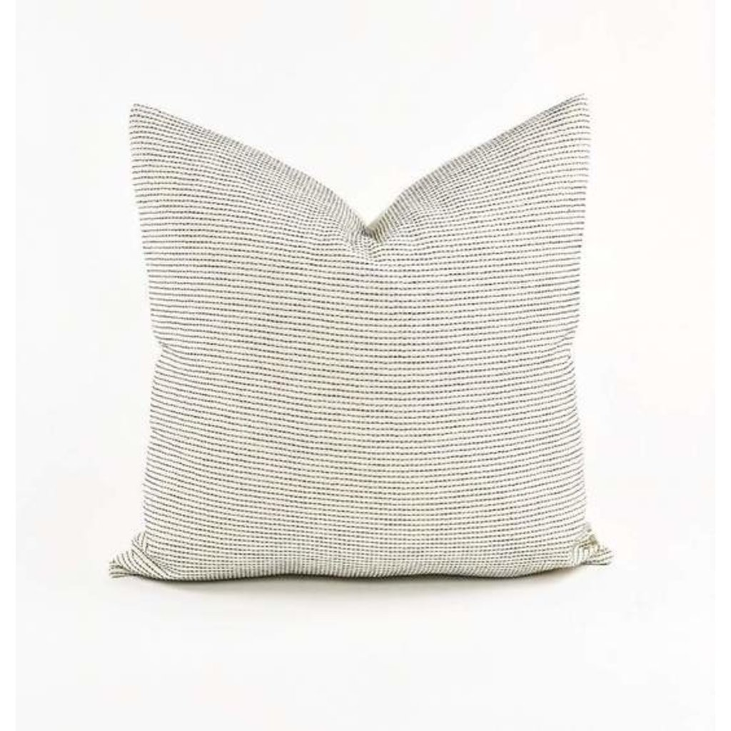 "Slate Handwoven Atid 22"" Pillow"