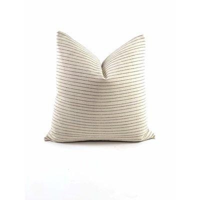 Slate Handwoven Kang Pillow