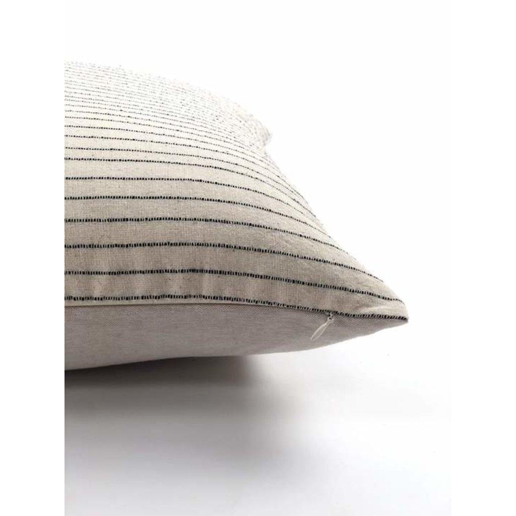 """Slate Handwoven Kang 18"""" Pillow"""