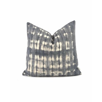 "Slate Handwoven Nina 20"" Pillow"