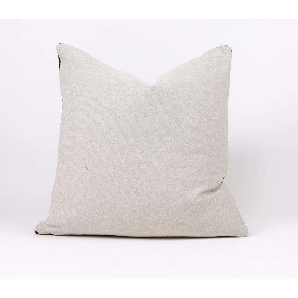 """Slate Handwoven Nina 20"""" Pillow"""