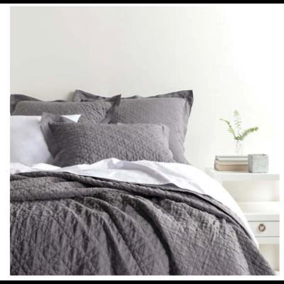 Slate Washed Linen Quilt