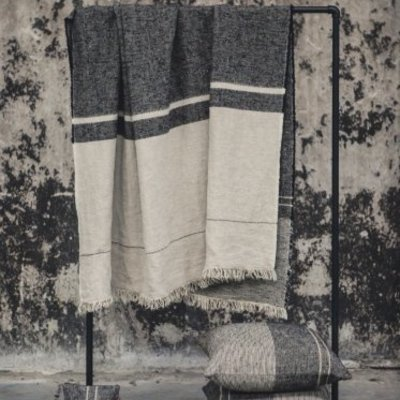 Libeco Francis Stripe Throw