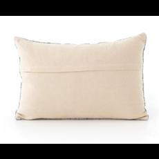 """Slate Mosaic Print Lumbar Pillow 16x24"""""""