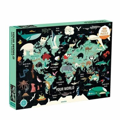 Slate Your World 1000 Piece Puzzle