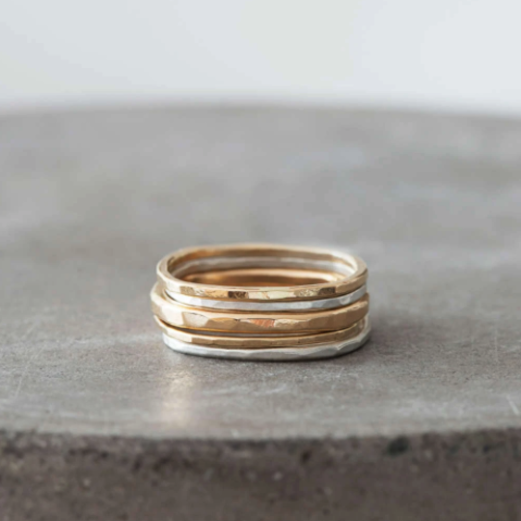 Colleen Mauer Designs Thin Stacking Ring Set