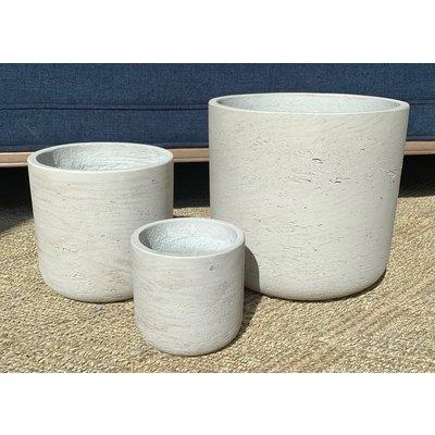 Slate Grey Washed Pots