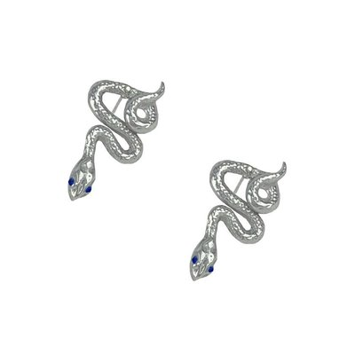 Article 22 Sapphire Snake Earrings