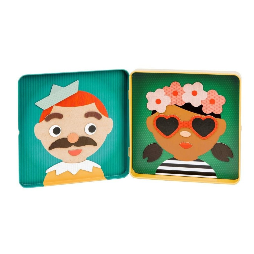 Slate Funny Faces Magnetic Play Set