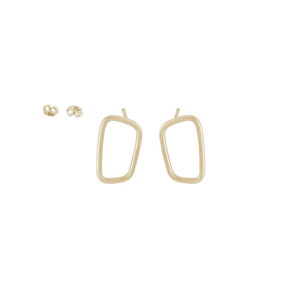 Colleen Mauer Designs Rectangle Stud Earrings