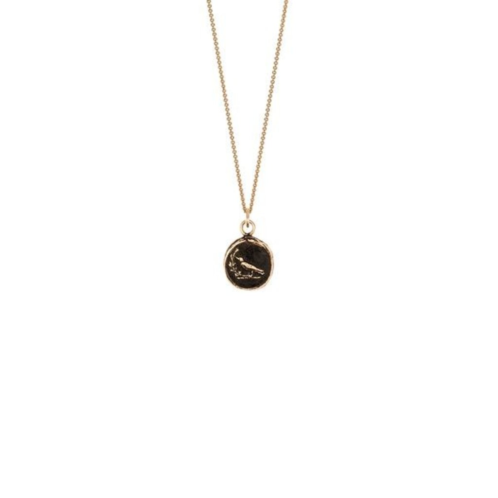 Pyrrha Creativity 14k Gold Talisman Necklace