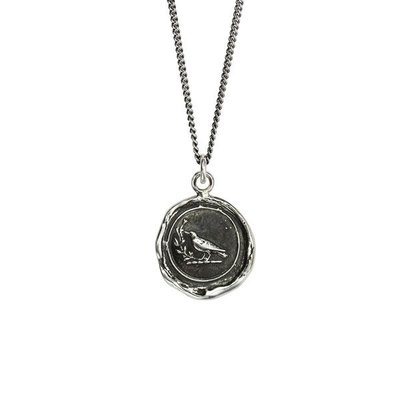Pyrrha Creativity Sterling Silver Talisman Necklace