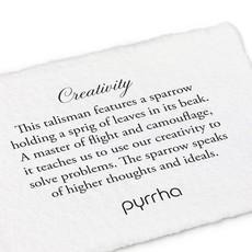 Pyrrha Creativity Sterling Silver Talisman Necklace