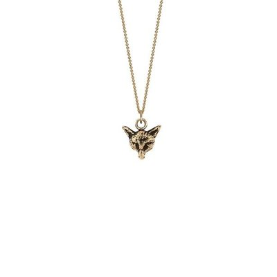 Pyrrha Fox 14K Gold Talisman Necklace