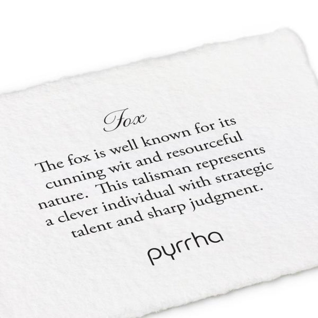Pyrrha Fox 14K Gold Talisman Necklace