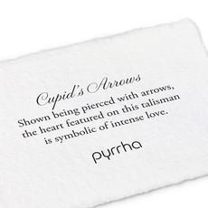 Pyrrha Cupid's Arrow 14k Gold Talisman Necklace