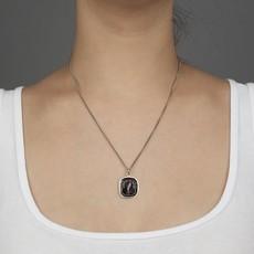 Pyrrha Love Guides Me Sterling Silver Talisman Necklace