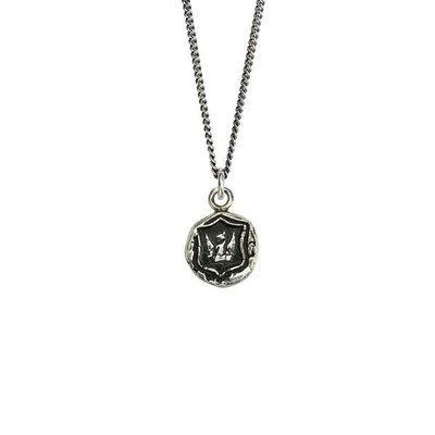 Pyrrha Bravery & Protection Sterling Silver Talisman Necklace