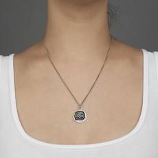 Pyrrha Carpe Diem Sterling Silver Talisman Necklace