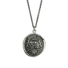 Pyrrha Wanderlust Sterling Silver Talisman Necklace