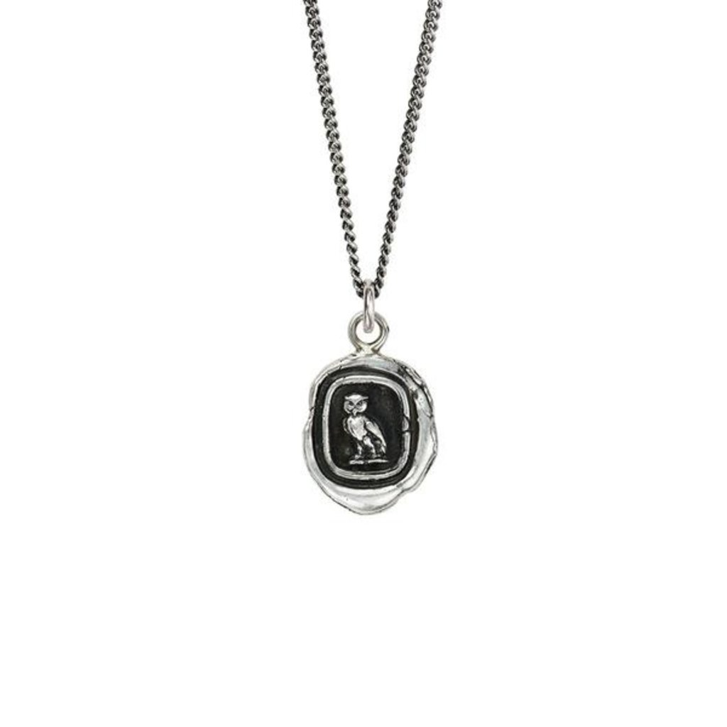 Pyrrha Watch Over Me Sterling Silver Talisman Necklace