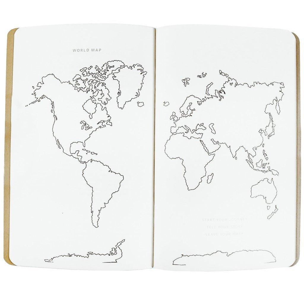 Rustico Globetrotter Travel Journal