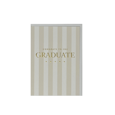 Slate Graduation Card - Congrats