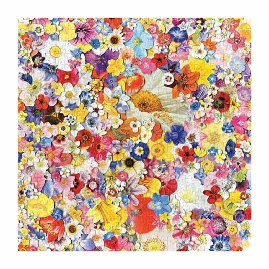 Slate Infinite Bloom 500 Piece Puzzle