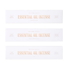 The Floral Society Essential Oil Incense