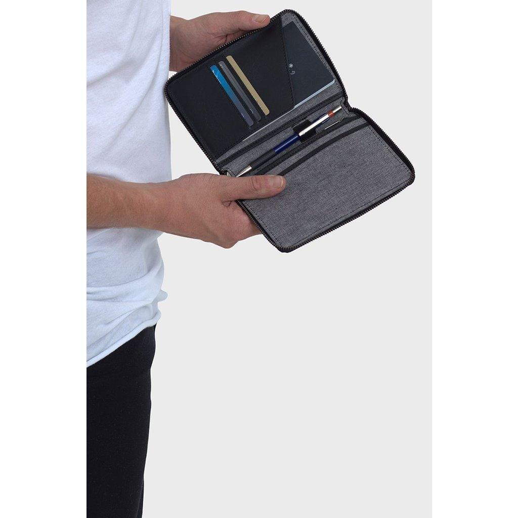 Slate Budal Passport Wallet