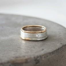 Colleen Mauer Designs 3-Stack Round Diamond Ring Set