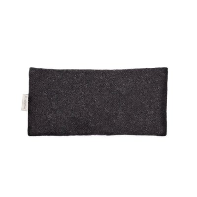 Elizabeth W Eye Pillow Charcoal Wool