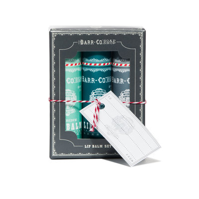 Barr Co Lip Balm Gift Trio - Cool