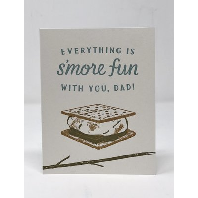 Slate Father's Day Card - S'more Fun