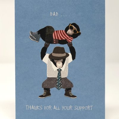 Slate Father's Day Card - Support