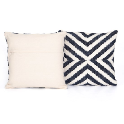 "Slate Navy ""X"" 20"" Pillow"