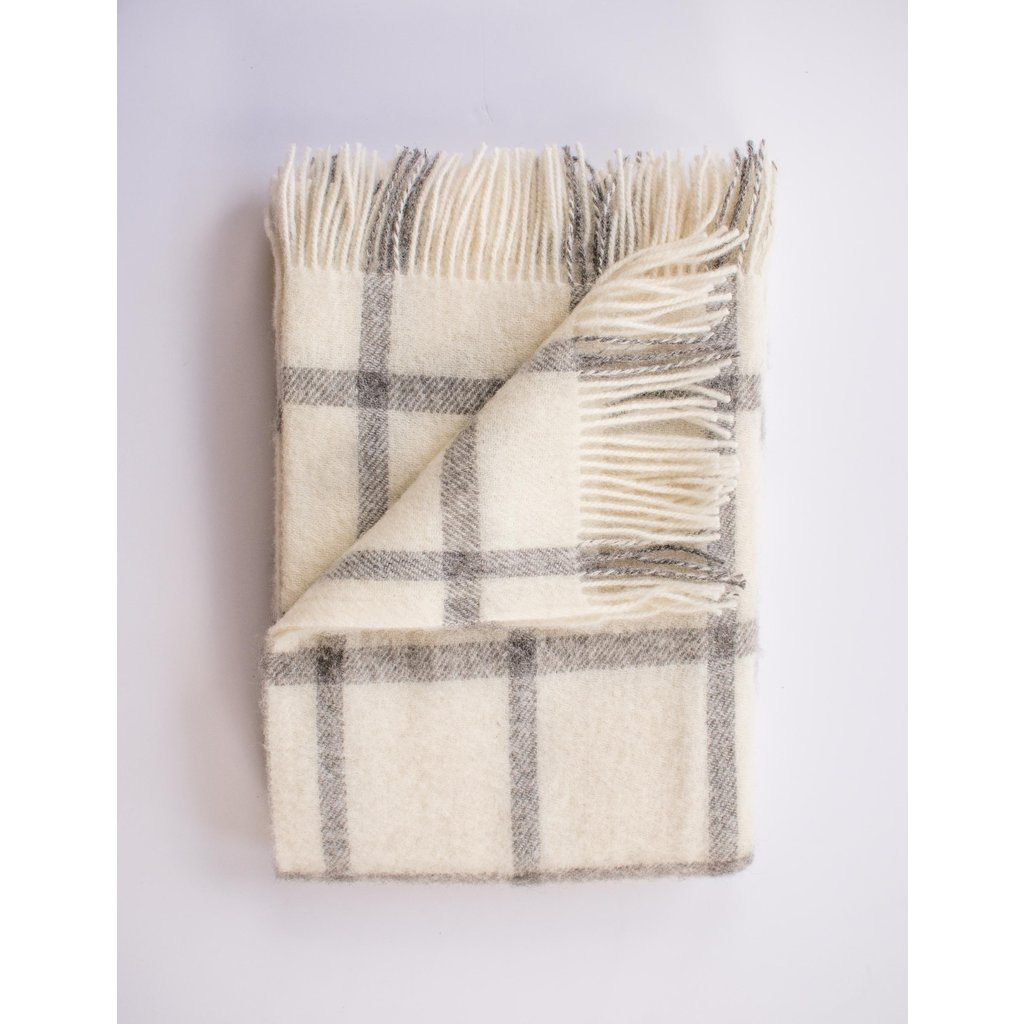 Evangeline Patterned Merino Throw