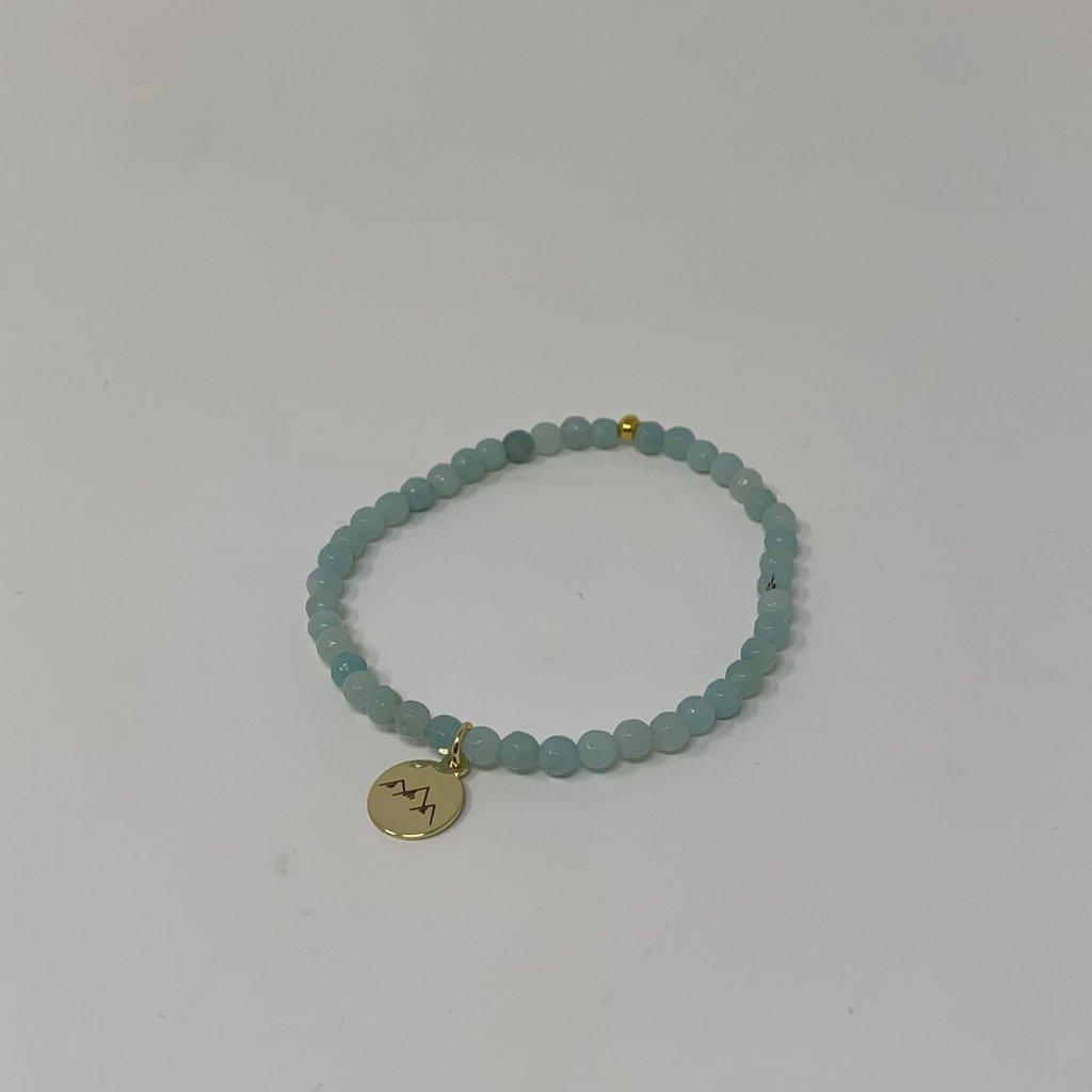 Slate Mini Amazonite Bracelet