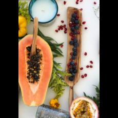 Slate Olive Wood Rectangle Tapas Dish