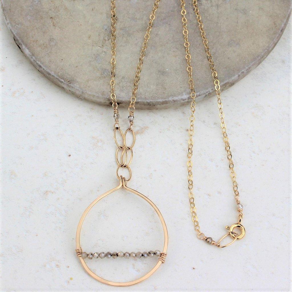 Slate Luna Necklace