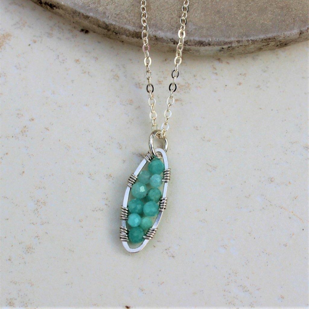 Peapod Necklace