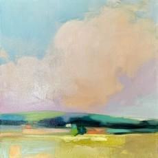 "Julia Purinton ""Looking East"" Acrylic 20x20"