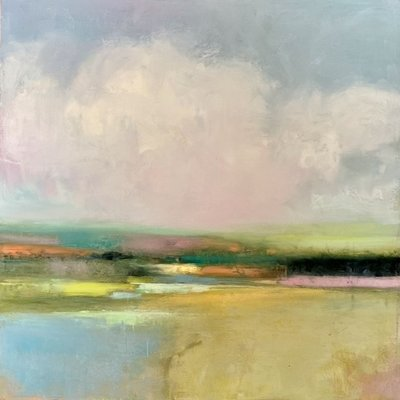 "Julia Purinton ""Cotton Candy"" 24x24"