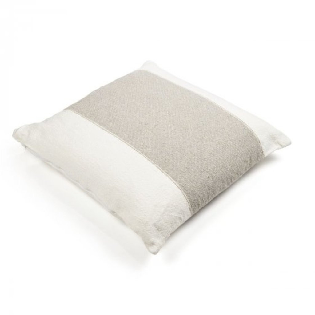 "Libeco Charlotte Stripe 25"" Pillow"