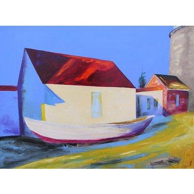"""Janis Sanders Painting """"Head Light and Shadows """"30X40 - Janis Sanders"""